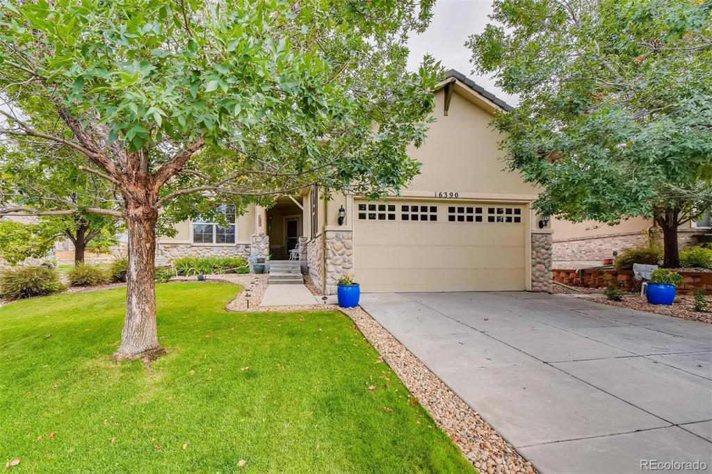 Photo of home for sale at 16390 Aliante Drive, Broomfield CO