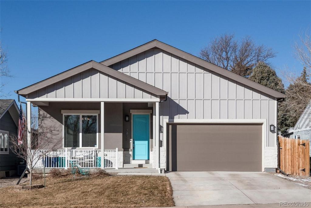 Photo of home for sale at 2875 Logan Street S, Englewood CO