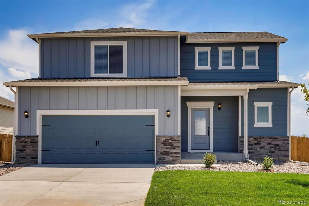 Photo of home for sale at 18081 E 89th Place, Commerce City CO