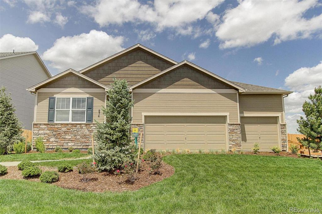 Photo of home for sale at 19940 61st Drive E, Aurora CO