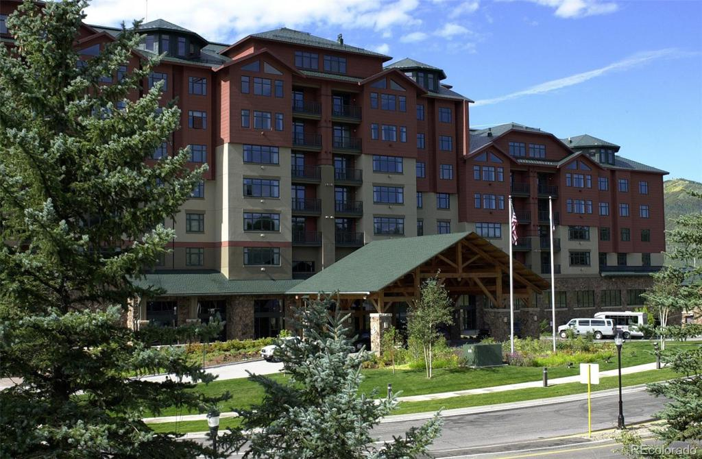 Photo of home for sale at 2300 Mt. Werner Circle 417/419 QIv, Steamboat Springs CO