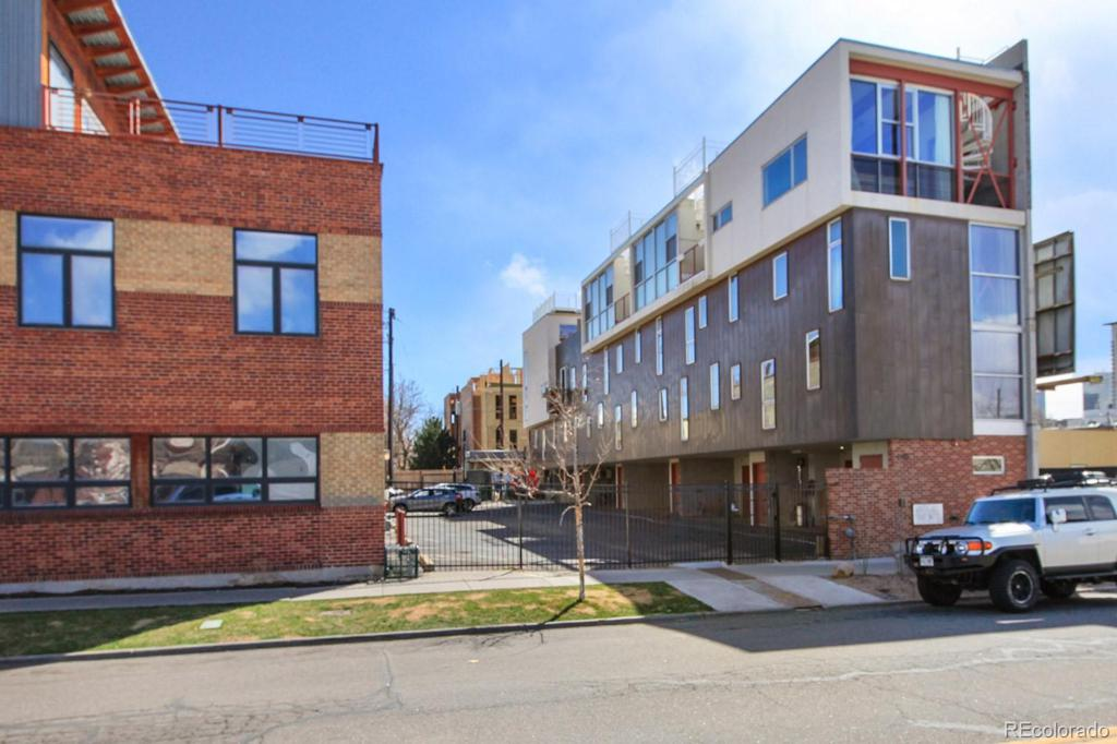 Photo of home for sale at 2340 Curtis Street, Denver CO