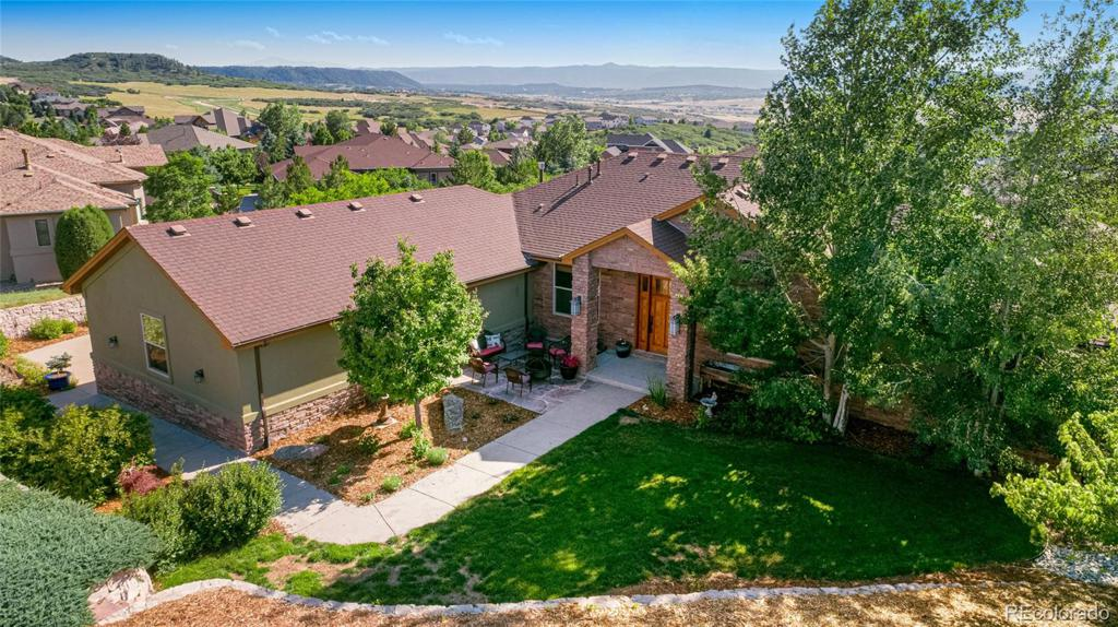 Photo of home for sale at 1338 Ash Hollow Place, Castle Rock CO