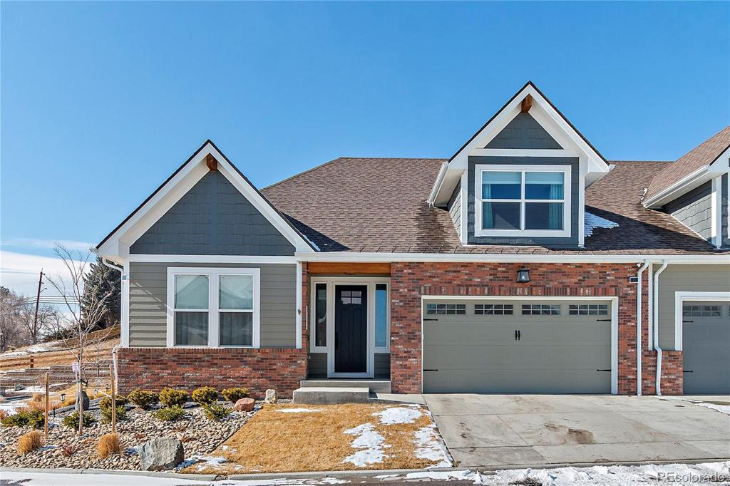 Photo of home for sale at 6875 Brentwood Court, Arvada CO