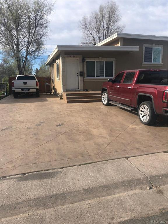 Photo of home for sale at 3454 Dakota Avenue W, Denver CO