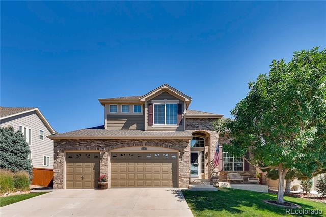 Photo of home for sale at 1305 Galactic Place, Castle Rock CO