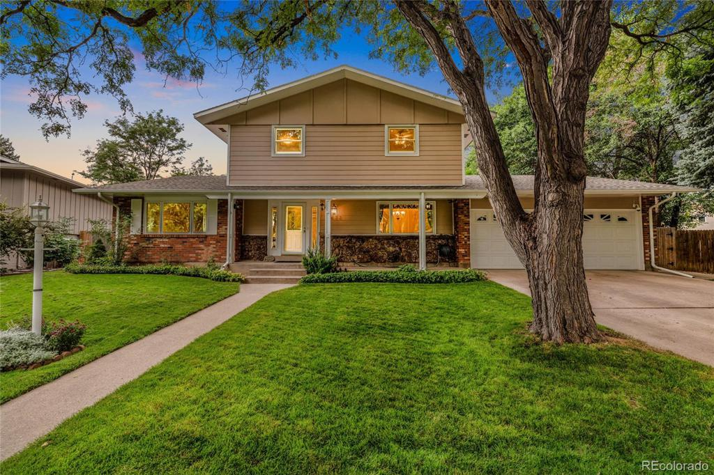 Photo of home for sale at 2633 Killdeer Drive, Fort Collins CO