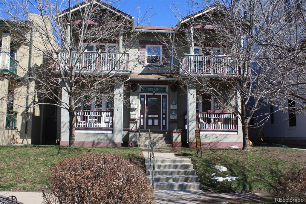 Photo of home for sale at 1746 Franklin Street N, Denver CO