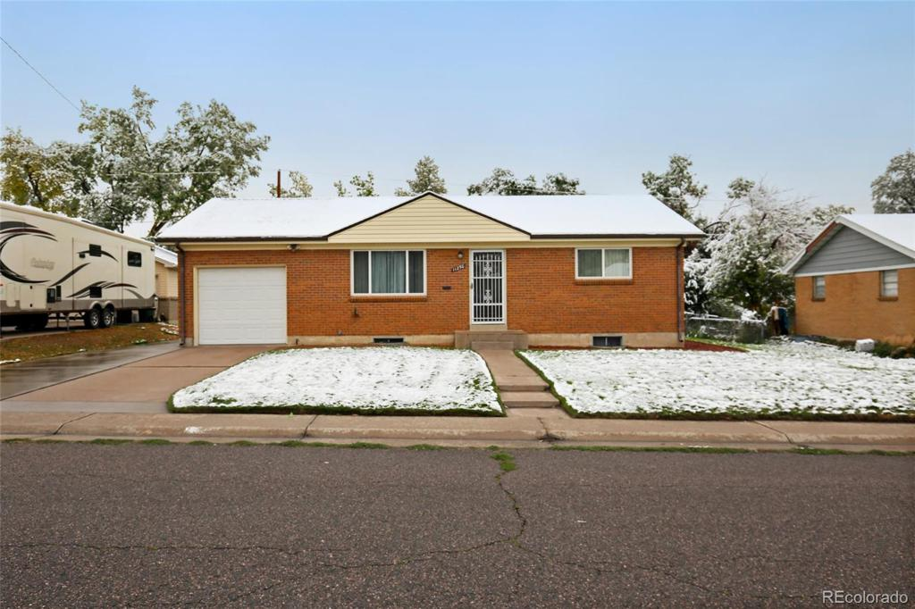 Photo of home for sale at 11250 Marion Street, Northglenn CO