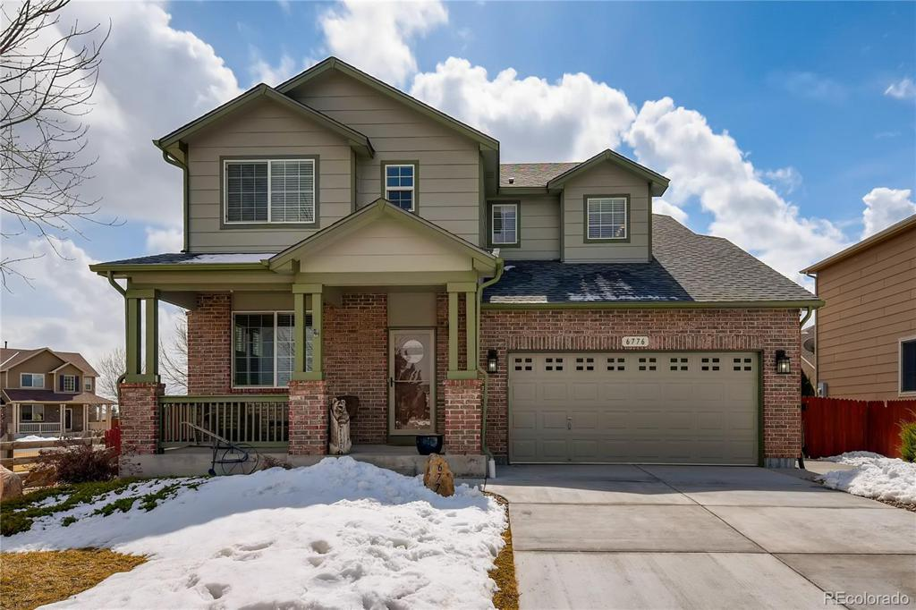 Photo of home for sale at 6776 128th Place E, Thornton CO