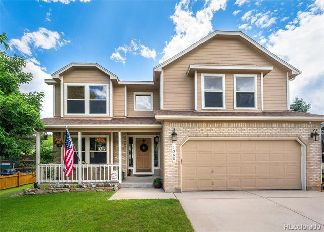 Photo of home for sale at 1365 Casson Court, Colorado Springs CO