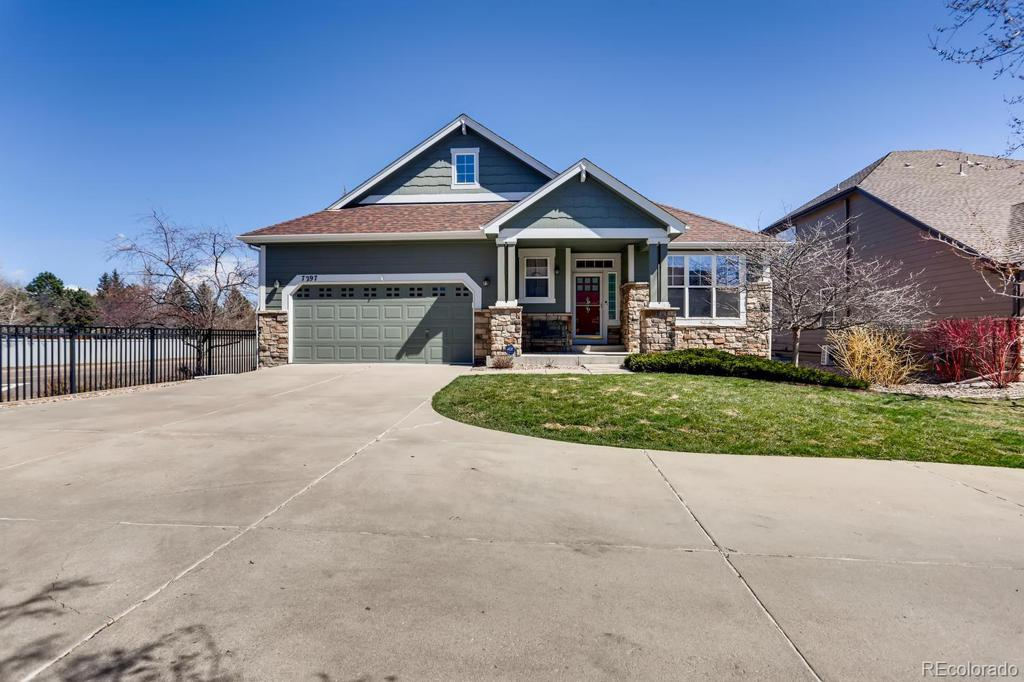 Photo of home for sale at 7297 Quail Court S, Littleton CO