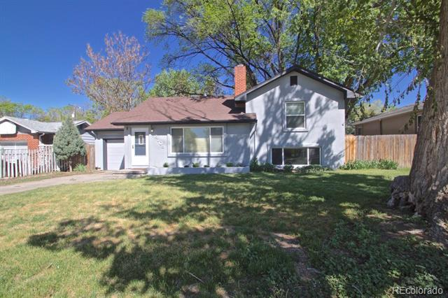 Photo of home for sale at 2708 Templeton Gap Road, Colorado Springs CO