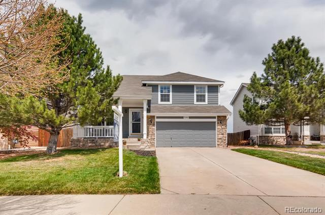 Photo of home for sale at 22163 Mercer Place E, Aurora CO