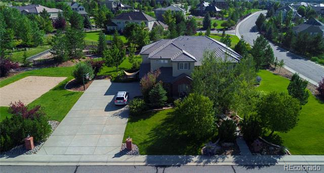 Photo of home for sale at 286 Claymoor Court, Castle Pines CO