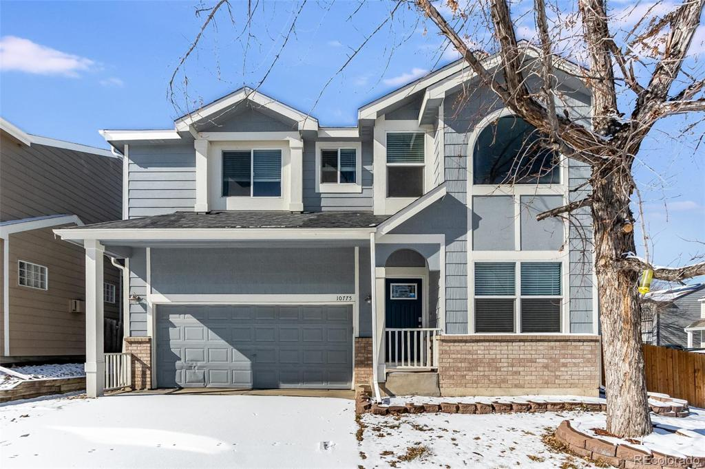 Photo of home for sale at 10775 Cook Court, Northglenn CO
