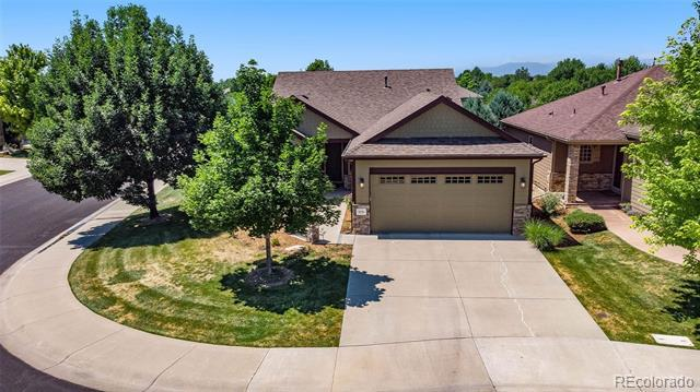 Photo of home for sale at 3235 Current Creek Court, Loveland CO