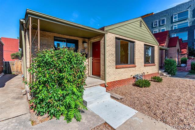 Photo of home for sale at 209 Washington Street North, Denver CO