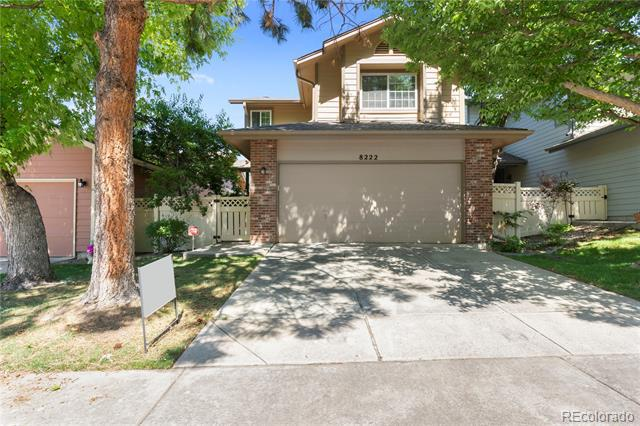 Photo of home for sale at 8222 Gaylord Court South, Centennial CO