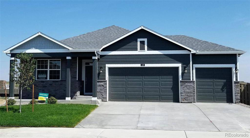 Photo of home for sale at 139 Hidden Lake Drive, Severance CO