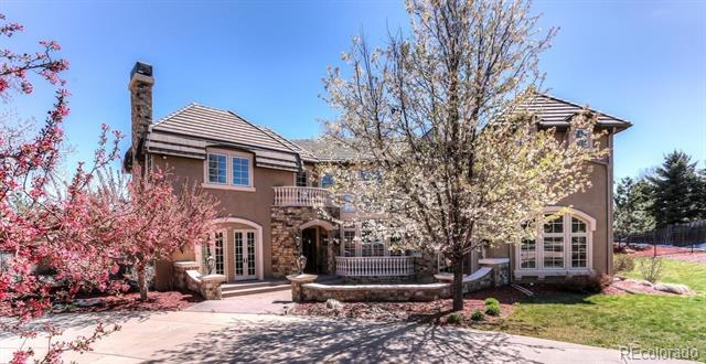 Photo of home for sale at 4 Ravenswood Road, Cherry Hills Village CO