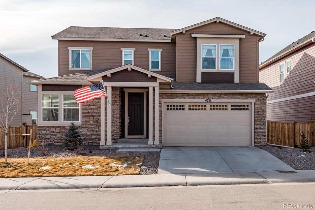 Photo of home for sale at 4781 Basalt Ridge Circle, Castle Rock CO