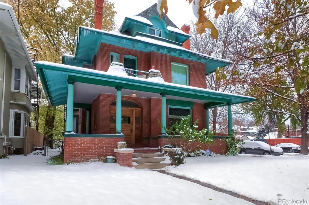 Photo of home for sale at 863 Emerson Street N, Denver CO