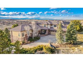 Property for sale at 13110 Whisper Canyon Road, Castle Pines,  Colorado 80108