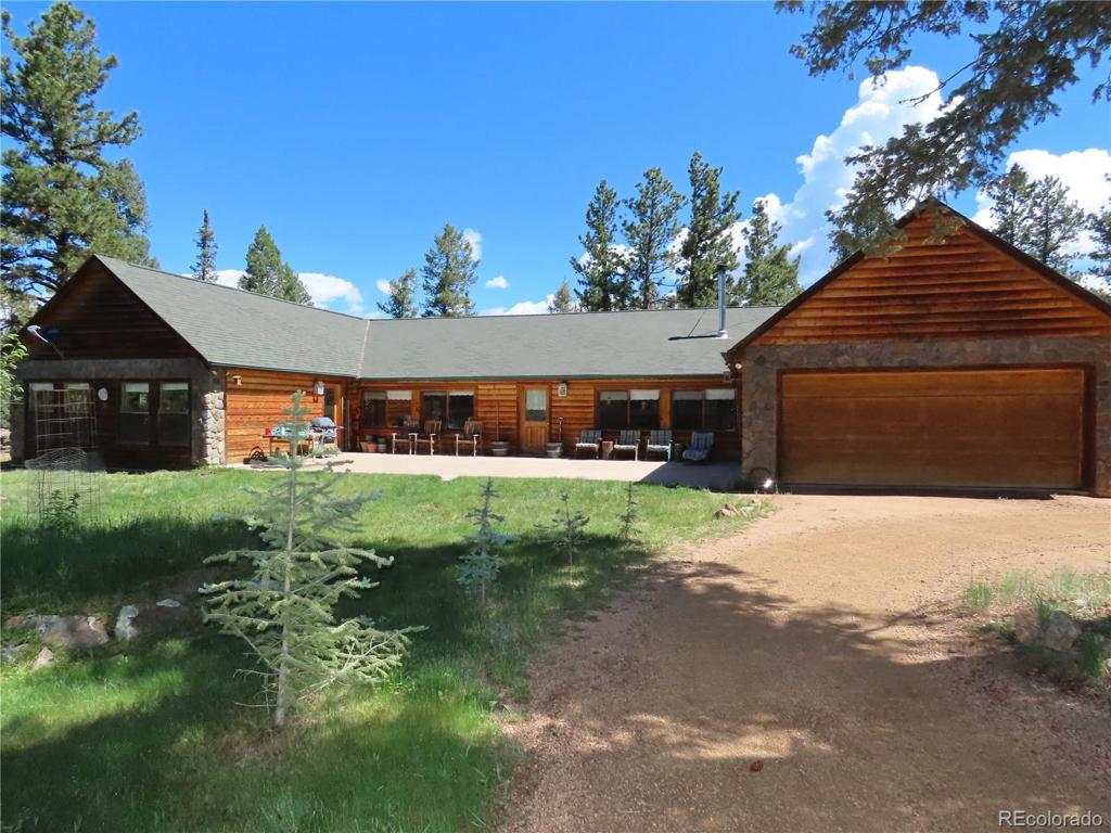 Photo of home for sale at 1324 Upper Twin Rocks Road, Florissant CO