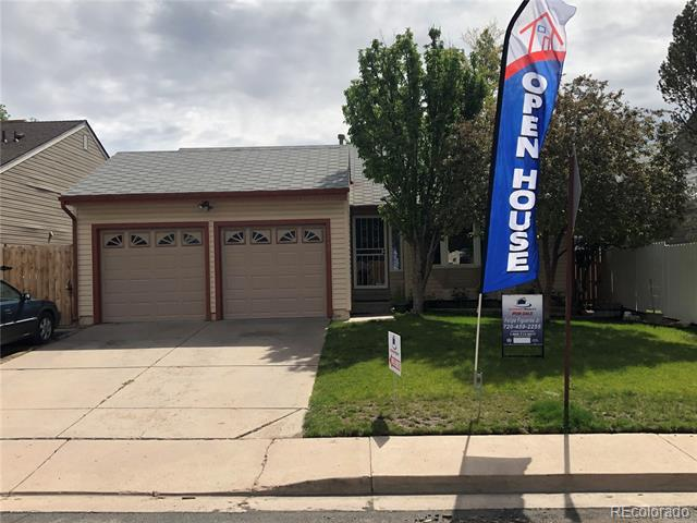 Photo of home for sale at 12742 Bellaire Street, Thornton CO