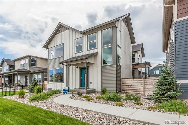 Photo of home for sale at 2969 Conquest Street, Fort Collins CO