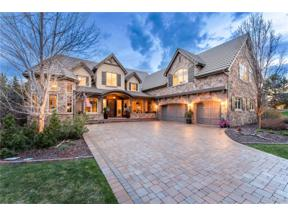 Property for sale at 5742 Amber Ridge Place, Castle Pines,  Colorado 80108