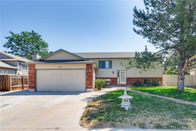 Photo of home for sale at 3714 Logan Drive, Loveland CO