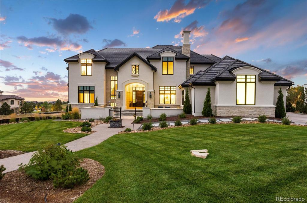 Photo of home for sale at 10969 Skydance Drive, Highlands Ranch CO