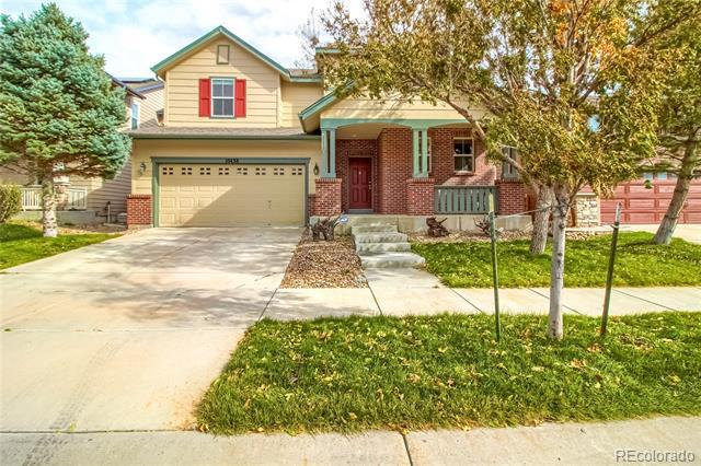 Photo of home for sale at 10438 Olathe Way, Commerce City CO