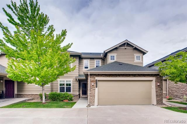 Photo of home for sale at 22185 Dry Creek Place E, Aurora CO