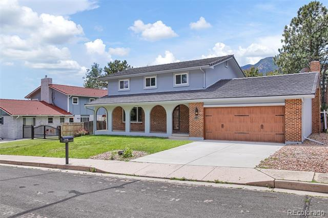 Photo of home for sale at 115 Clubridge Place, Colorado Springs CO