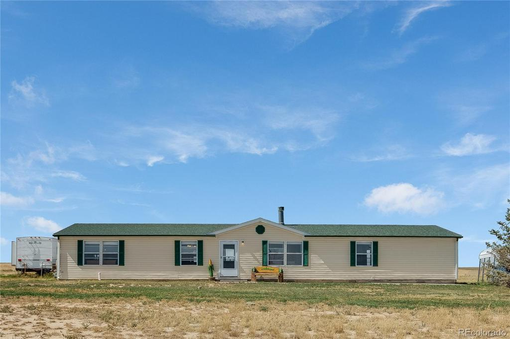 Photo of home for sale at 45045 Mexico Avenue E, Bennett CO