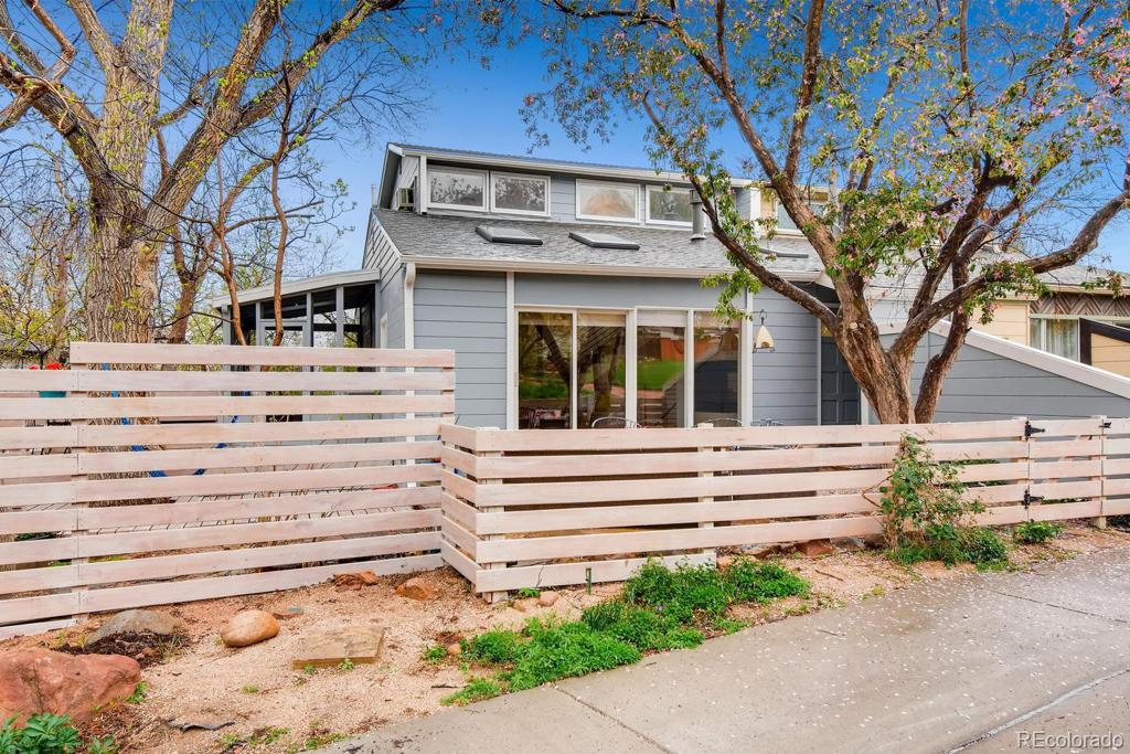 Photo of home for sale at 2702 6th Street, Boulder CO