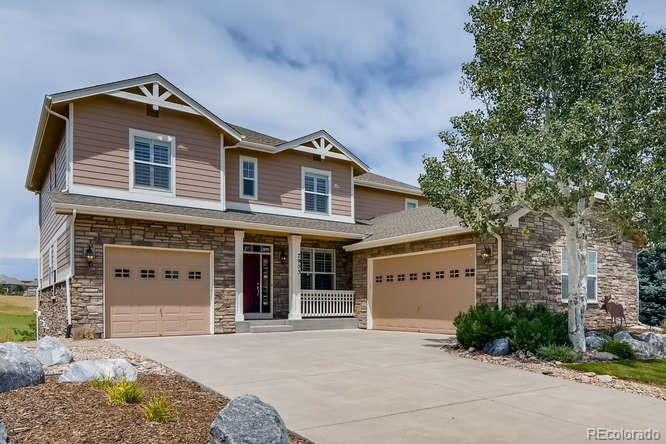 Photo of home for sale at 7953 Valleyhead Way S, Aurora CO