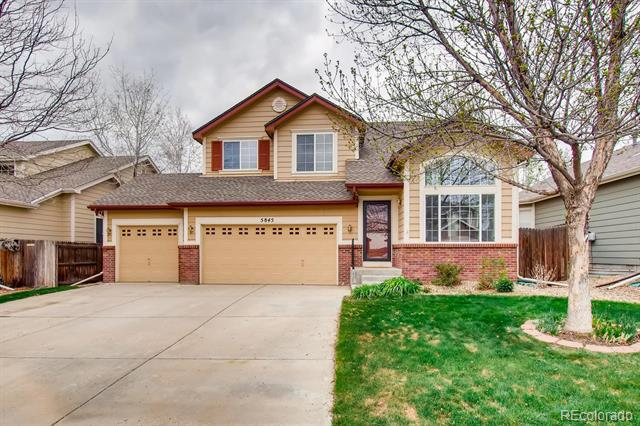 Photo of home for sale at 5845 Scenic Avenue, Firestone CO