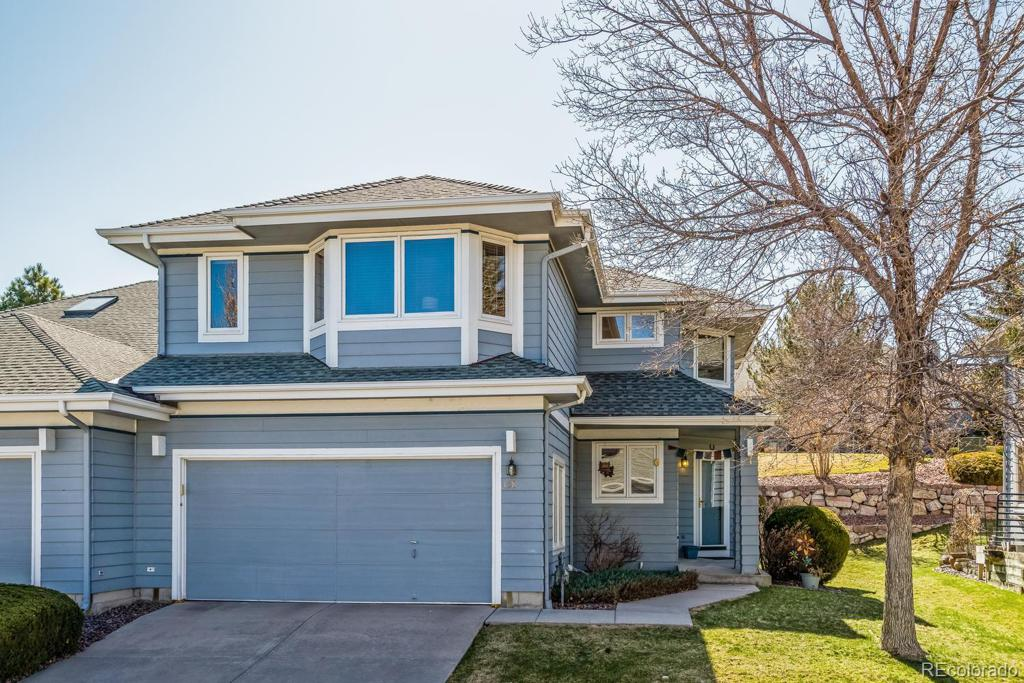 Photo of home for sale at 158 Sugar Plum Way, Castle Rock CO