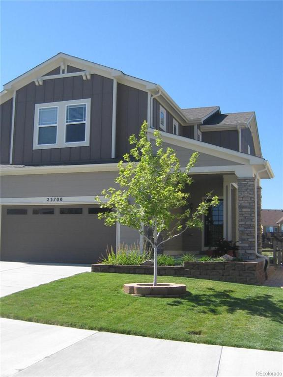 Photo of home for sale at 23700 Eagle Bend Lane, Parker CO