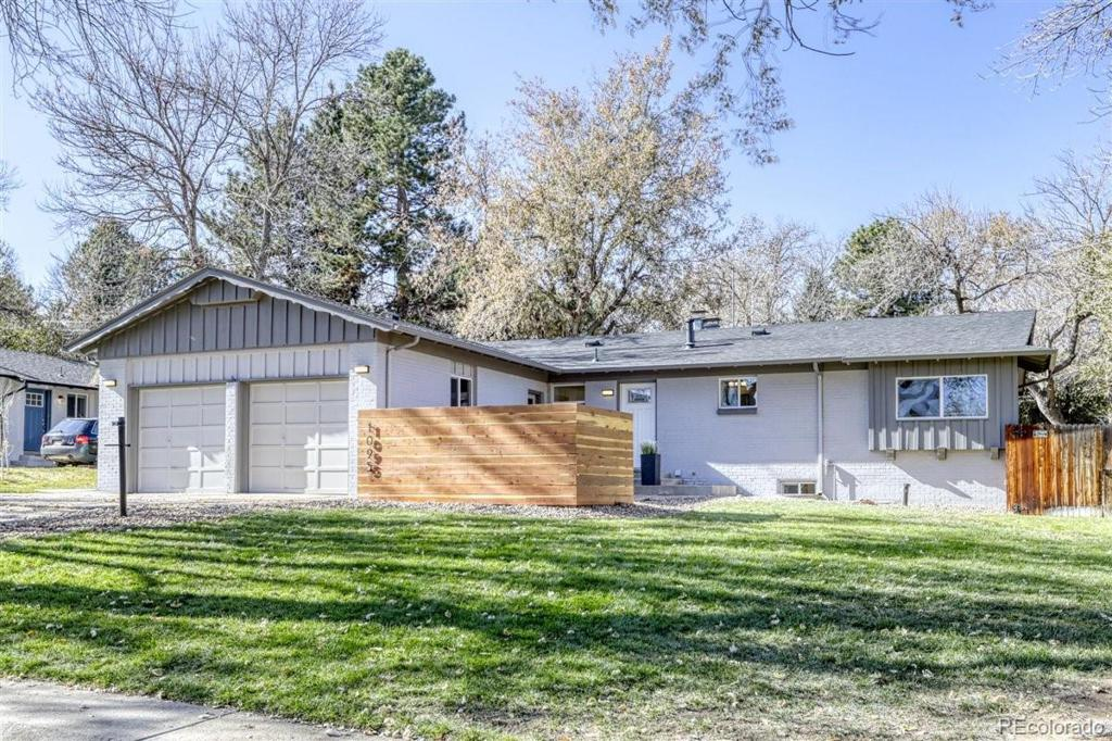 Photo of home for sale at 1095 Zang Street, Golden CO