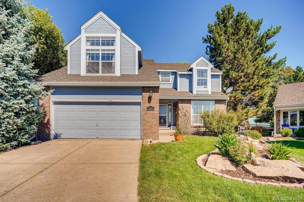 Photo of home for sale at 9667 Dorado Drive W, Littleton CO