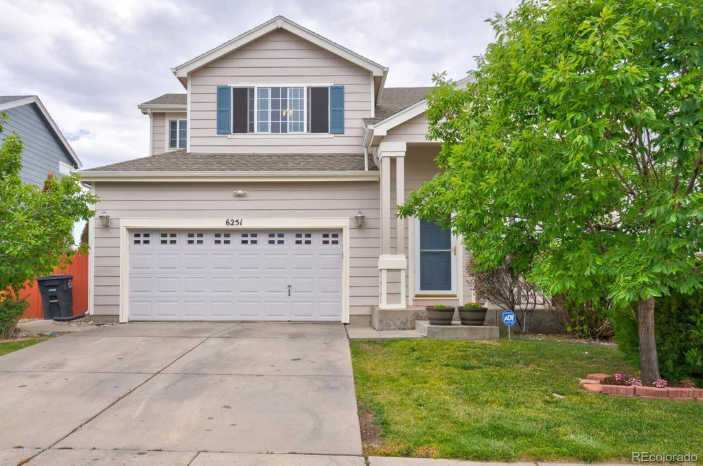Photo of home for sale at 6251 Alibi Circle, Colorado Springs CO