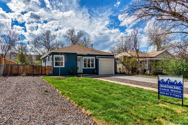 Photo of home for sale at 1959 Uinta Street, Denver CO