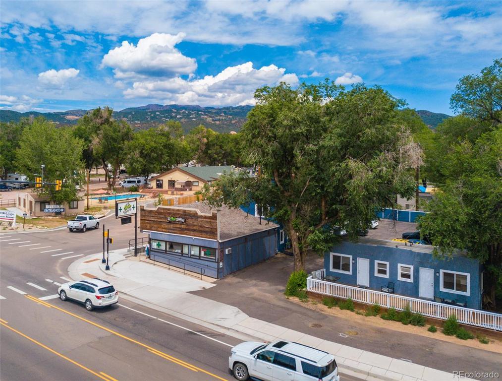 Photo of home for sale at 3640 Colorado Avenue W, Colorado Springs CO