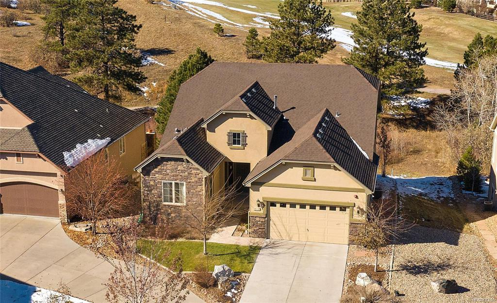 Photo of home for sale at 1719 Holmby Way, Castle Rock CO