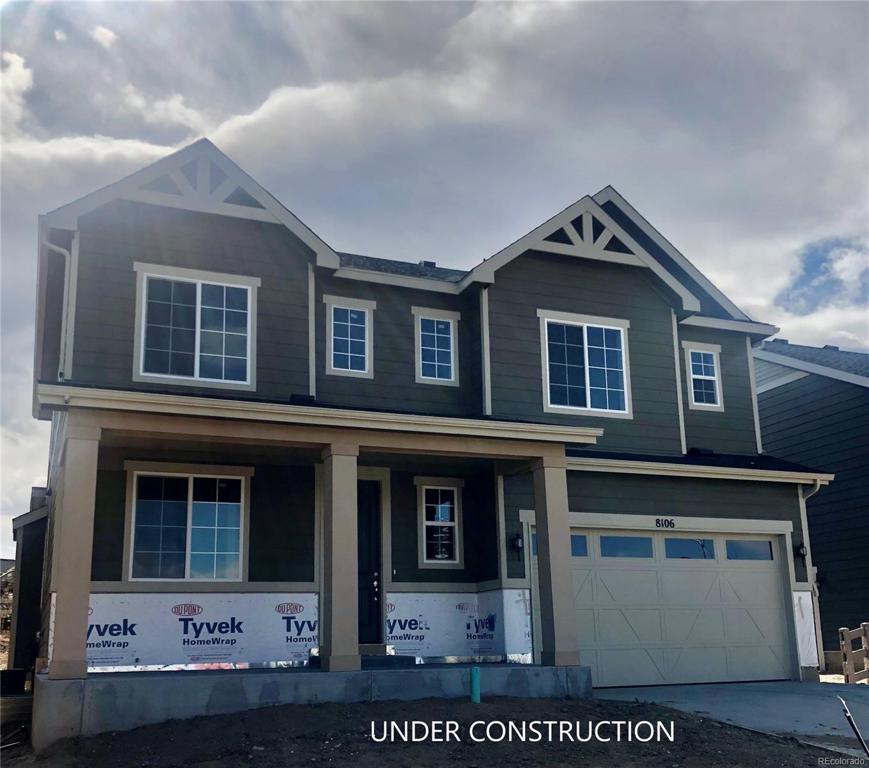 Photo of home for sale at 8106 Blue River Avenue, Littleton CO